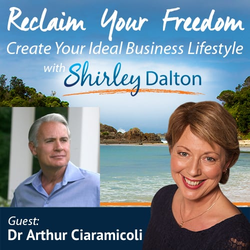 SD  #092 – The Stress Solution. Have the Team, Business and Life You Want | Arthur Ciaramicoli